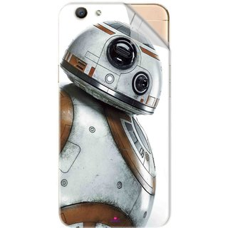 Snooky Printed Movie Star Wars Episode VII Pvc Vinyl Mobile Skin Sticker For Oppo F1s
