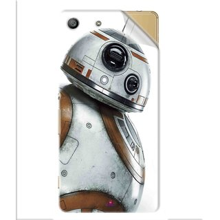 Snooky Printed Movie Star Wars Episode VII Pvc Vinyl Mobile Skin Sticker For Sony Xperia M5