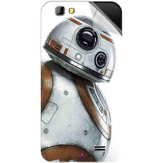Snooky Printed Movie Star Wars Episode VII Pvc Vinyl Mobile Skin Sticker For LYF Wind 5