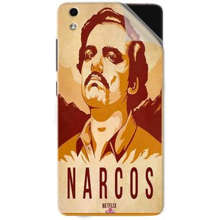 Snooky Printed Narcos Pvc Vinyl Mobile Skin Sticker For LYF Water 5