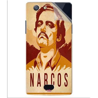 Snooky Printed Narcos Pvc Vinyl Mobile Skin Sticker For Oppo Neo 5