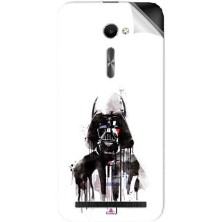 Snooky Printed star wars white Pvc Vinyl Mobile Skin Sticker For Asus Zenfone 2 ZE500CL 5.0