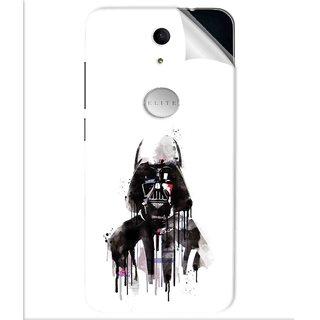 Snooky Printed star wars white Pvc Vinyl Mobile Skin Sticker For Swipe Elite Plus