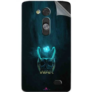 Snooky Printed Star Wars Logo Pvc Vinyl Mobile Skin Sticker For LG L Fino