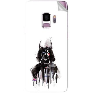 Snooky Printed star wars white Pvc Vinyl Mobile Skin Sticker For Samsung Galaxy S9 Plus