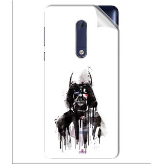 Snooky Printed star wars white Pvc Vinyl Mobile Skin Sticker For Nokia 5