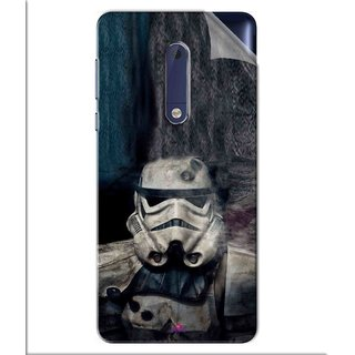 Snooky Printed star wars Pvc Vinyl Mobile Skin Sticker For Nokia 5