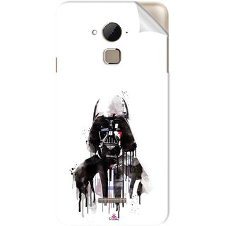 Snooky Printed star wars white Pvc Vinyl Mobile Skin Sticker For Coolpad Note 3 Plus