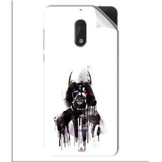 Snooky Printed star wars white Pvc Vinyl Mobile Skin Sticker For Nokia 6