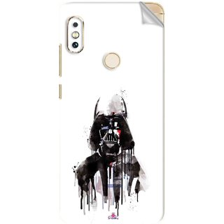 Snooky Printed star wars white Pvc Vinyl Mobile Skin Sticker For Xiaomi Redmi Note 5 Pro