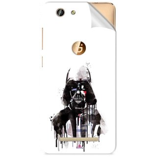 Snooky Printed star wars white Pvc Vinyl Mobile Skin Sticker For Gionee F103 Pro