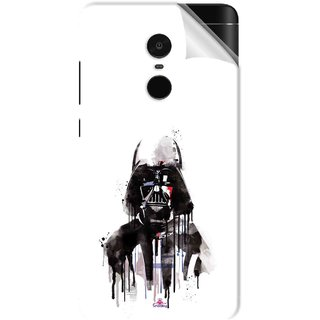 Snooky Printed star wars white Pvc Vinyl Mobile Skin Sticker For Xiaomi Redmi Note 4