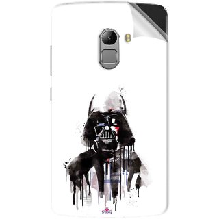 Snooky Printed star wars white Pvc Vinyl Mobile Skin Sticker For Lenovo K4 Note