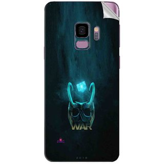 Snooky Printed Star Wars Logo Pvc Vinyl Mobile Skin Sticker For Samsung Galaxy S9 Plus