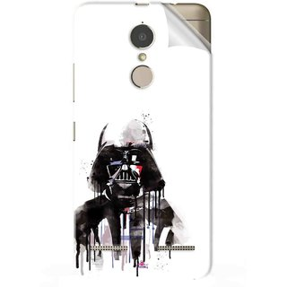 Snooky Printed star wars white Pvc Vinyl Mobile Skin Sticker For Lenovo K6 Power