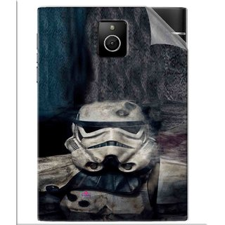 Snooky Printed star wars Pvc Vinyl Mobile Skin Sticker For BlackBerry Passport