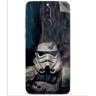 Snooky Printed star wars Pvc Vinyl Mobile Skin Sticker For Huawei Honor 9i