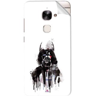 Snooky Printed star wars white Pvc Vinyl Mobile Skin Sticker For Letv Le 2