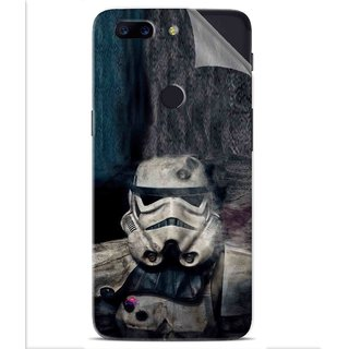 Snooky Printed star wars Pvc Vinyl Mobile Skin Sticker For OnePlus 5t