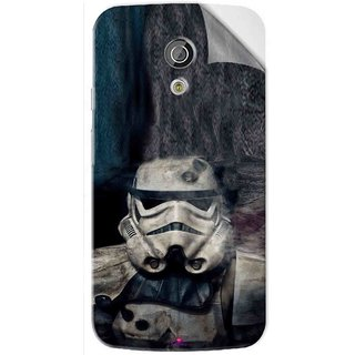 Snooky Printed star wars Pvc Vinyl Mobile Skin Sticker For Moto G2