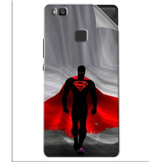 Snooky Printed Super Man Pvc Vinyl Mobile Skin Sticker For Huawei Honor 8 Smart