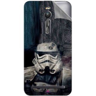 Snooky Printed star wars Pvc Vinyl Mobile Skin Sticker For Asus Zenfone 2