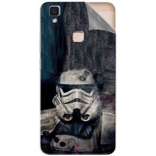 Snooky Printed star wars Pvc Vinyl Mobile Skin Sticker For Vivo V3 Max