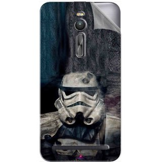 Snooky Printed star wars Pvc Vinyl Mobile Skin Sticker For Asus Zenfone 2 ZE551ML