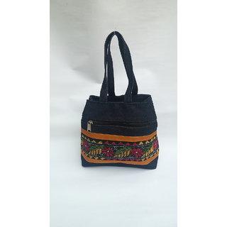 Handicraft handbags for womens  santiniketan Katha stich disigne
