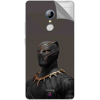 Snooky Printed The Golden Jaguar Suit Black Panther Pvc Vinyl Mobile Skin Sticker For LYF Water 7