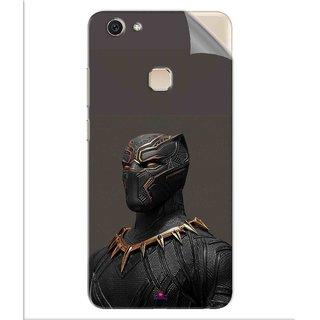 Snooky Printed The Golden Jaguar Suit Black Panther Pvc Vinyl Mobile Skin Sticker For Vivo V7 Plus