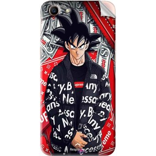 Snooky Printed supreme goku Pvc Vinyl Mobile Skin Sticker For Oppo A83