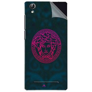 Snooky Printed Versace Pvc Vinyl Mobile Skin Sticker For Vivo Y51L