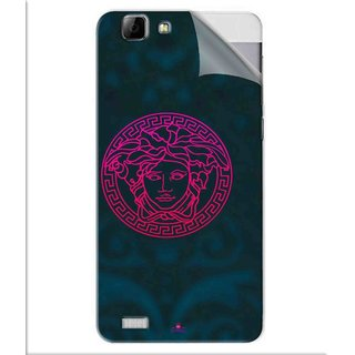 Snooky Printed Versace Pvc Vinyl Mobile Skin Sticker For Vivo V1