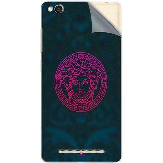 Snooky Printed Versace Pvc Vinyl Mobile Skin Sticker For Xiaomi Redmi 3S