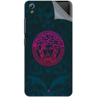 Snooky Printed Versace Pvc Vinyl Mobile Skin Sticker For Gionee Pioneer P5W