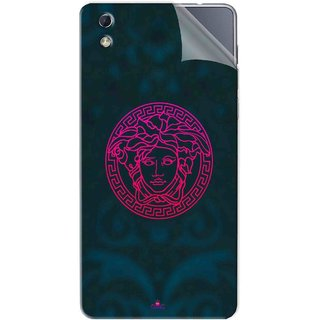 Snooky Printed Versace Pvc Vinyl Mobile Skin Sticker For LYF water 1