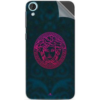 Snooky Printed Versace Pvc Vinyl Mobile Skin Sticker For HTC Desire 820