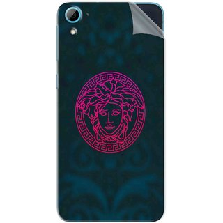 Snooky Printed Versace Pvc Vinyl Mobile Skin Sticker For HTC Desire 826