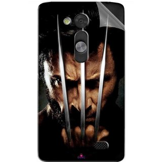 Snooky Printed x men origins wolverine Pvc Vinyl Mobile Skin Sticker For LG L Fino