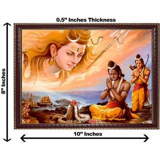 3d colourful rameshwaram wall painting( size 08*10)