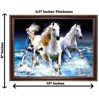 3d vastu 3 horse wall painting( size 0810)