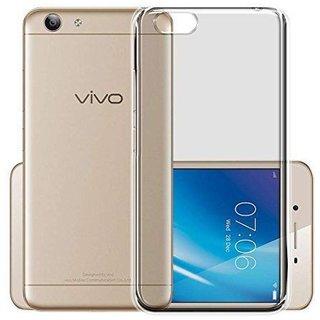 Vivo V5 / V5S/Y67 Transparent Soft  TPU Back Cover Case