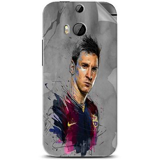 Snooky Printed yann dalon Pvc Vinyl Mobile Skin Sticker For Htc One M8