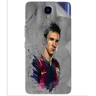 Snooky Printed yann dalon Pvc Vinyl Mobile Skin Sticker For Infinix Note 4
