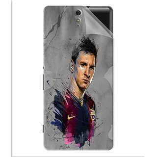 Snooky Printed yann dalon Pvc Vinyl Mobile Skin Sticker For Sony Xperia C5
