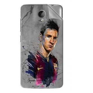 Snooky Printed yann dalon Pvc Vinyl Mobile Skin Sticker For Vivo Y22
