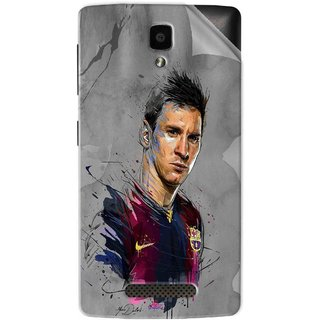 Snooky Printed yann dalon Pvc Vinyl Mobile Skin Sticker For Lenovo A1000