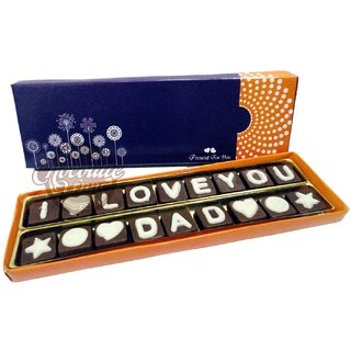 Chocolate Message Gift for DAD/Father