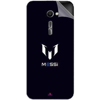 Snooky Printed Messi Football Lover Pvc Vinyl Mobile Skin Sticker For Asus Zenfone 2 Laser ZE500CL